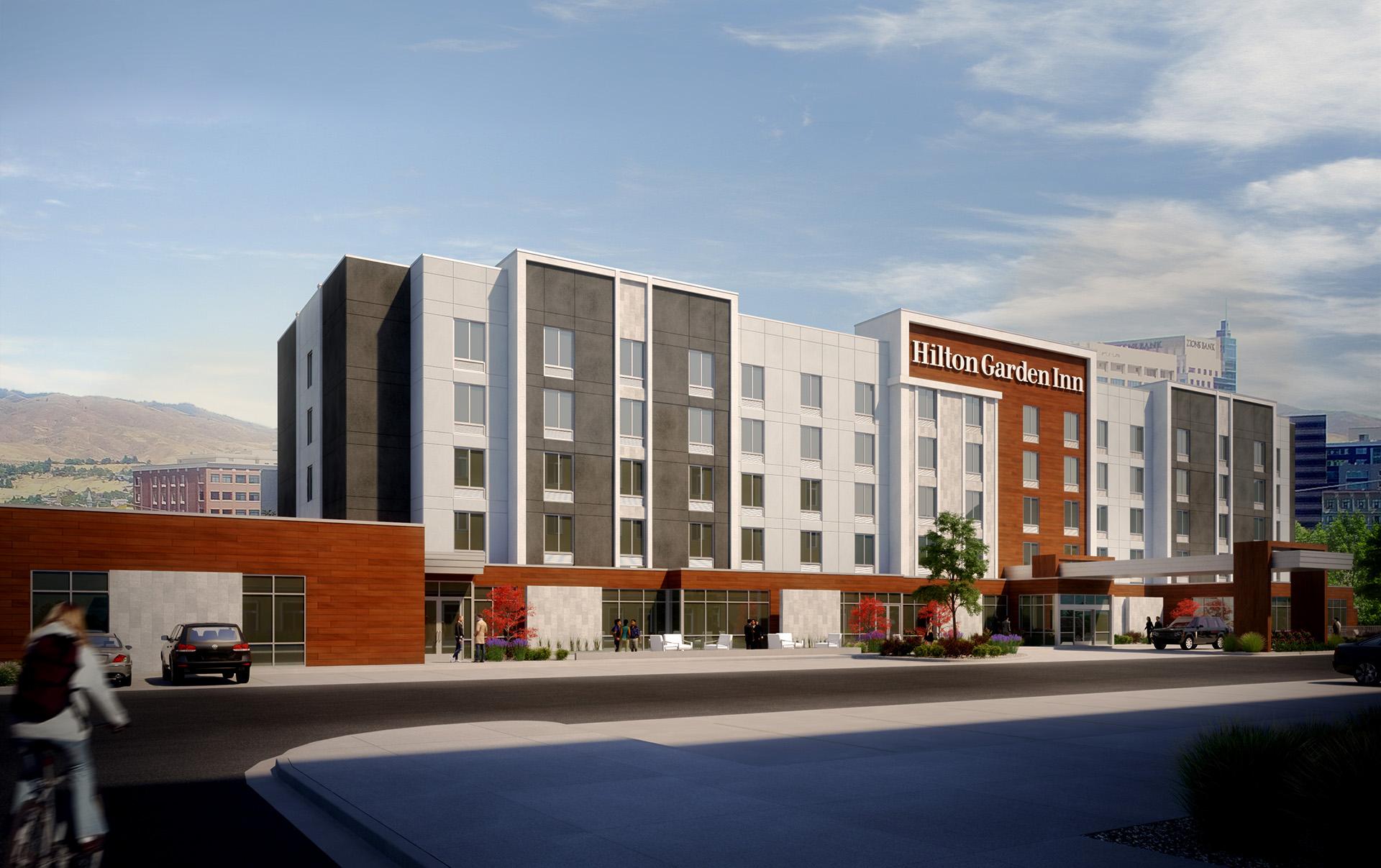 Hilton Garden Inn Boise Id Headwaters Construction Company