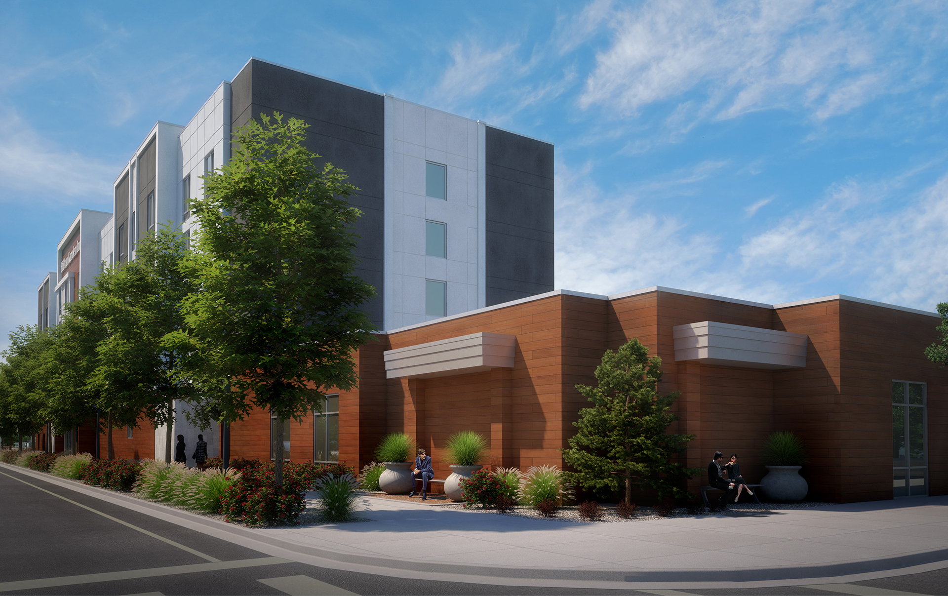 About The Project. The New Boise Hilton Garden Inn ...